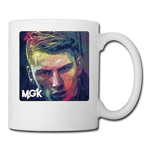 Machine Gun Kelly Tee Kaffee Tisch Tassen, Tassen, Polyester, weiß, Einheitsgröße