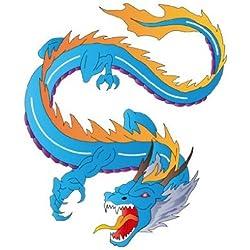 Vinilo de ventana No.344 Dragon of Fight, Dimensione:72cm x 60cm