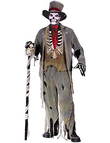 Erwachsene Voodoo Zombie Halloween-Kostüm