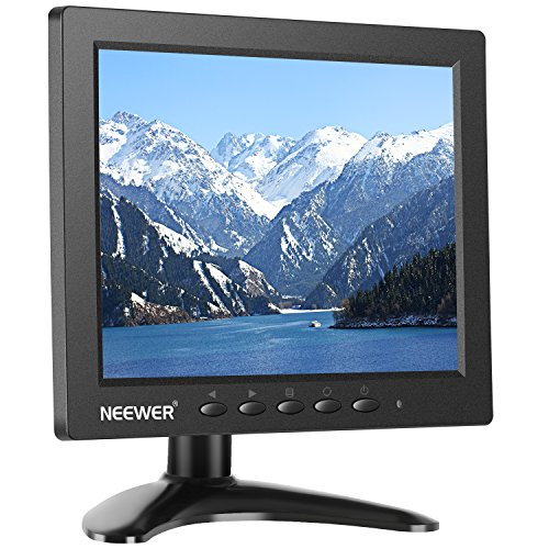 Neewer NW801H Monitor 8 pulgadas 4:3 Pantalla TFT-LCD