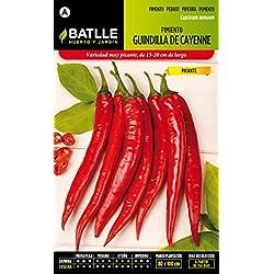 Semillas Batlle - Pimiento Guindilla De Cayenne Rojo