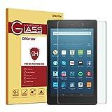 Fire HD 8 Glass Screen Protector, OMOTON...