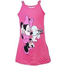 DISNEY Niñas Minnie Mouse Vestido, rosa