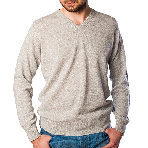 Hawick Knitwear - Pull - Homme BRUME