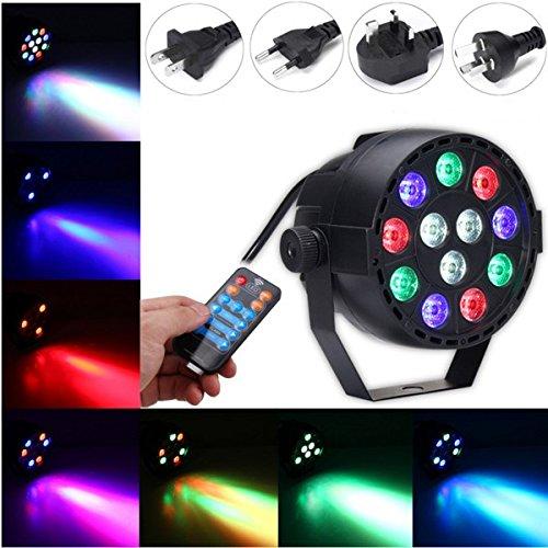 ll-LED-Kugel-Stadiums-Licht-Ton-Modus Fernbedienung Licht für DJ-Disco Halloween (Transformator Halloween)
