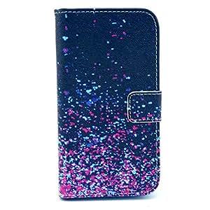 Cuir Coque Strass Case Etui Coque étui de portefeuille protection Coque Case Cas Cuir Swag Pour Samsung Galaxy S4 mini I9190 I9195 I9192 (Not for S4) A05