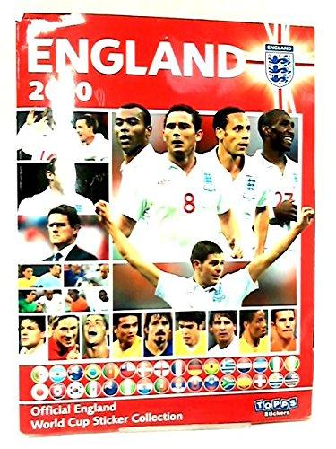 Official England World Cup Sticker Collection 2010 por NA