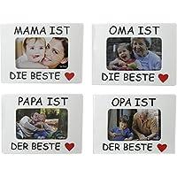 Marco Marco de Fotos OMA Opa Mama Papa es la Mejor para Fotos 10 x 15