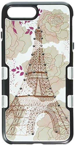 MyBat Handy Fall für Apple iPhone 7Plus-Eiffelturm/Schwarz metallic (Verizon-handys Großer Bildschirm)