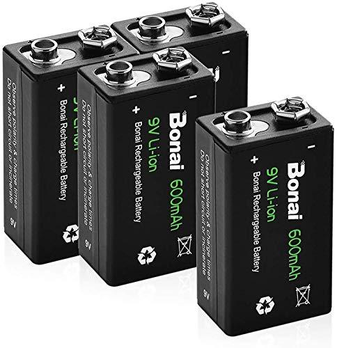 BONAI Pilas D Recargables 10000 mAh Ultra Alta Capacidad 1.2V NI-MH...