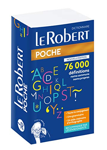 Dictionnaire Le Robert de poche 2020 par  Collectif