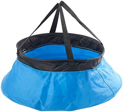 Semptec Urban Survival Technology pieghevole secchio per Outdoor e campeggio, Nylon, 10litri