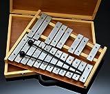 chromatisches 20 Noten Glockenspiel / Xylophon im Koffer