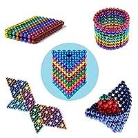 ChennyFun 8 Colores Mágico Pequeña Bola Creativa Mágico Bola Cubo de Mágico Rompecabezas Bola Descompresión Desarrollo Inteligente Juguetes Regalo Ideales para Enseñar En Casa La Oficina de ChennyFun