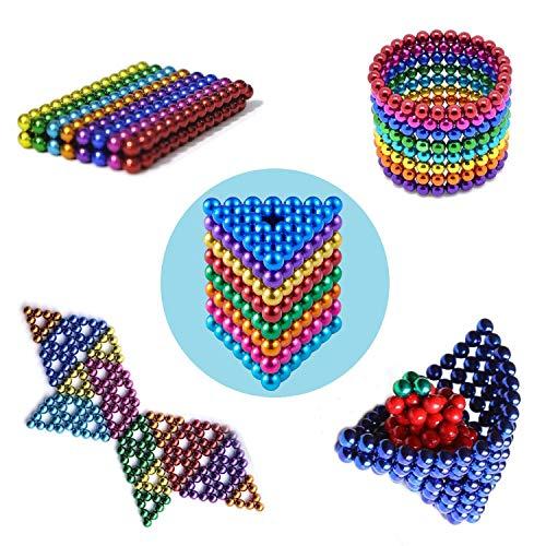 ChennyFun 8 Colores Mágico Pequeña Bola Creativa Mágico Bola Cubo de Mágico Rompecabezas Bola Descompresión Desarrollo Inteligente Juguetes Regalo Ideales para Enseñar En Casa La Oficina