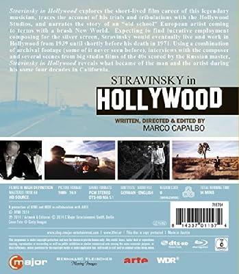 Stravinsky In Hollywood [Igor Stravinsky] ['BLU RAY] [Blu-ray] [2014] [Region A & B]