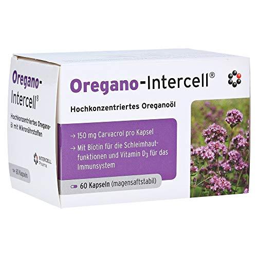 OREGANO-INTERCELL magensaftresistente Weichkapseln 60 Stück