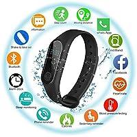 Montre Connectée Trackers d'activité ESHOWEE Bracelet Connecté Montre Intelligente étanche IP68 Fitness Tracker Bluetooth Podomètre Montre GPS Connectée pour Femme Homme Enfant Smart watch iOS Android