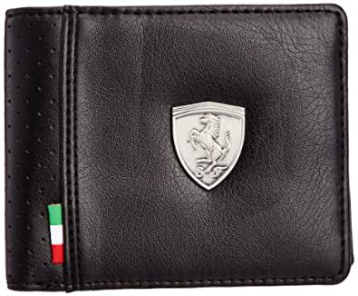puma ferrari ls wallet m porte monnaie noir 01 chaussures et sacs. Black Bedroom Furniture Sets. Home Design Ideas