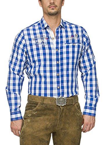 Stockerpoint Herren Freizeit Hemd Aldo, Blau (Blau), X-Large
