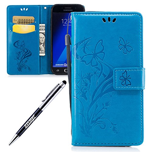 Galaxy-A5-2017-Custodia-Galaxy-A5-2017-Cover-Custodia-Pelle-JAWSEU-Samsung-Galaxy-A52017-SM-A520F-Protezione-Libro-Disegno-Wallet-Leather-Flip-Case-Cover-Custodia-per-Samsung-Galaxy-A5-2017-Cover-Cope