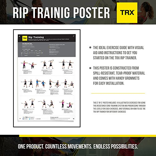 Zoom IMG-1 trx training rip workout poster