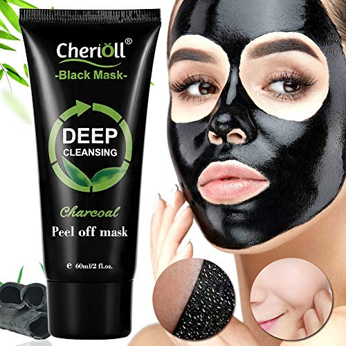 Cherioll Black Mask Aktivkohle Remover Deep Cleaning Facial Maske