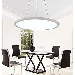 Luces colgantes modernas del LED Iluminación ultrafina de aluminio de la araña de la oficina del panel de la oficina