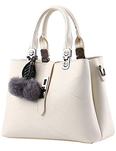 Menschwear Damen Handtasche Marken Handtaschen Elegant Taschen Shopper Reissverschluss Frauen Handtaschen Rose Cream