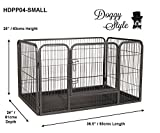 Doggy Style Heavy Duty Whelping With Abs Tray Puppy Play Pen, Small