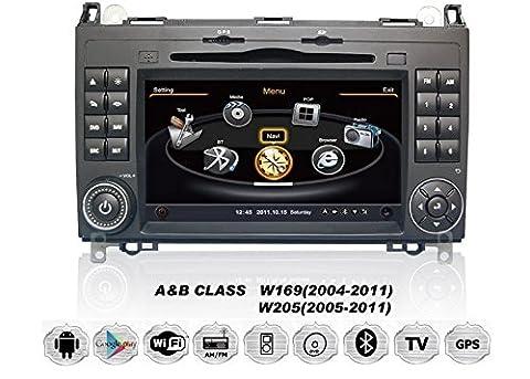 Mercedes Benz A/B Class Sprinter Autoradio Touchscreen Android Naviceiver CD DVD USB SD WIFI 3D GPS Navigation TV Bluetooth