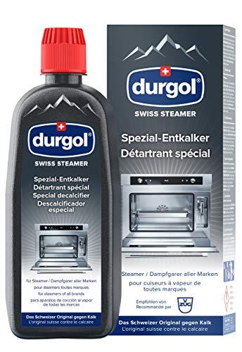 durgol swiss steamer Spezial-Entkalker - Kalkentferner für Steamer bzw. Dampfgarer aller Marken - Deutsche Version - 1x500ml