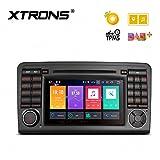 Xtrons 17,8cm Android 8.0Octa Core 4G RAM 32G ROM auto stereo digitale HD Schermo multi-touch lettore DVD DVR monitoraggio della pressione dei pneumatici WiFi OBD2per Mercedes Benz X164W164ml GL