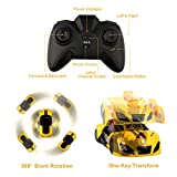 Remote Control Car, Epoch Air Kids Toys Transformers Robot RC Car Dual Modes 360° Rotation Stunt Cars with Wall Climbing Function Zero Gravity Electronic Cars Rechargeable Vehicles Toys Children Games Funny Gifts Cool Gadgets for Boys Girls Teenagers Adults