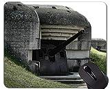 Mausunterlagen Besonders angefertigt, Gewehr-lustige Normandie-Mausunterlage mit genähtem Rand