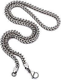 Tribal Steel Collar cadena Hombre acero inoxidable - TN0026 ss 56