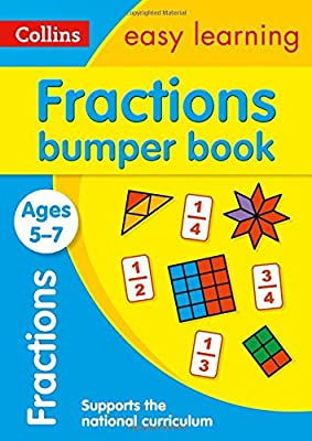 Fractions Bumper Book Ages 5-7 (Collins Easy Learning KS1) by Collins