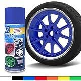 JOM 127096 Spray, film à vaporiser, facilement à enlever, bleu, 400ml