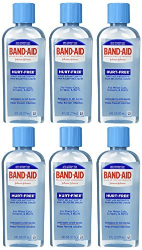 band-aid-brand-first-aid-hurt-free-antiseptic-wash-6-ounce-by-band-aid