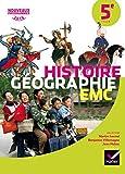 Histoire Géographie Enseignement moral et civique 5e : Manuel de l'élève