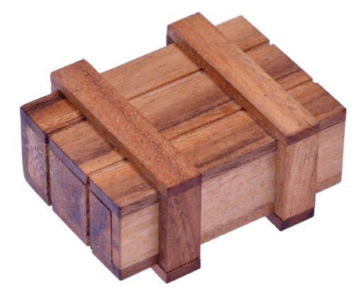 kiste - Zauberkiste - Trickkiste - Denkspiel - Knobelspiel - Geduldspiel - Logikspiel aus Holz ()