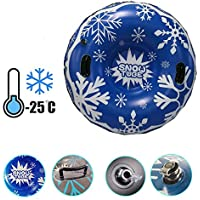 lingzhuo-shop Trineo de Nieve para Adulto Trineo Hinchable Inflatable Snow Tube Juguetes de Nieve Suministros de Esquí Espesor Material 0.6 mm para Niños y Adultos