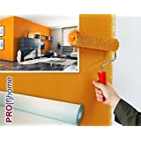 No tejido pintable TNT para reformas 150 g Profhome 399-150 papel de pared nonwoven liso blanco | 1 rollo 18,75 m2
