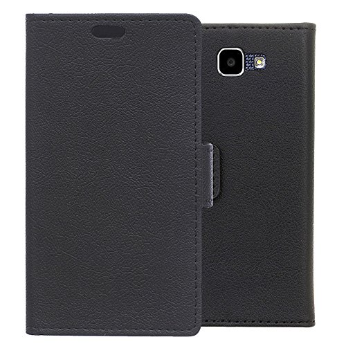 LG K4 Wallet Case, Aomo LG K4 Case[Wallet Case][Kickstand Feature] [Card Holder] PU Leather Protective Phone Case Cover for LG K4 2016 (4.5 Inch)-Black