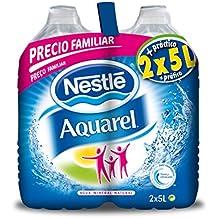 Nestlé Aquarel - Pet agua mineral natural - 5 l x 2 unidades