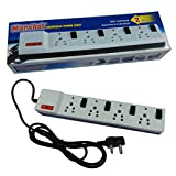 #4: Marshal Universal Power Strip With Fuse, Individual Switches and Indicators