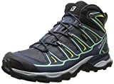 Salomon X Ultra Mid 2 GTX, Damen Trekking- & Wanderstiefel, Blau (Grey Denim/Deep Blue/Lucite Green), 36 EU (3.5 Damen UK)