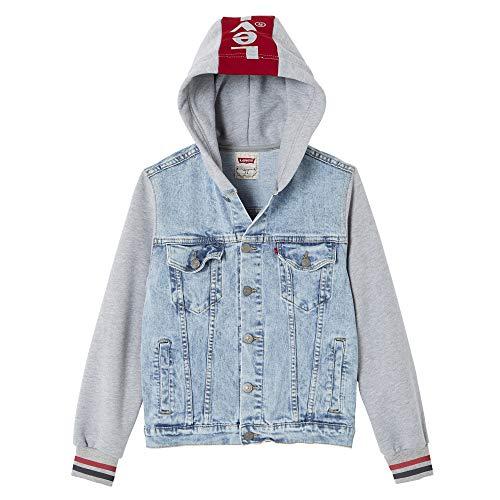 Levi's Kids NN40017 46 Jacket Blouson Garçon Bleu (Indigo 46) 16 Ans (Taille Fabricant:16Y) Lot de