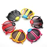 Infinxt Colorful Foldable Sunglasses For Kids Birthday Party Return Gift Pack Of 6