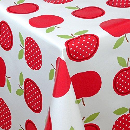 Wachstuch Tischdecke Gartentischdecke mit Fleecerücken Gartentischdecke, Pflegeleicht...